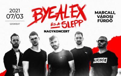 ByeAlex és a Slepp nagykoncert július 3-án, a Fürdőben