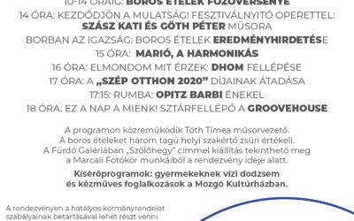 Szezonnyitó – Boros ételek fesztiválja – 2021.06.12.